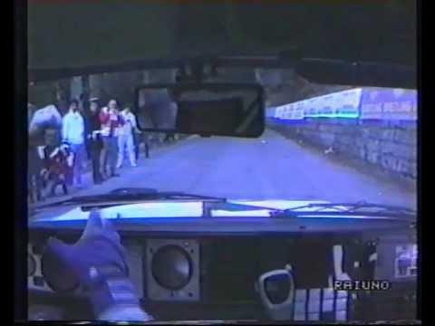 rallye montecarlo 1990 - biasion & cerrato - lancia delta 16v - onboard