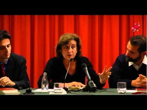 Victoria Cirlot intervé a la presentació de 'Vers un temps de síntesi' a Barcelona