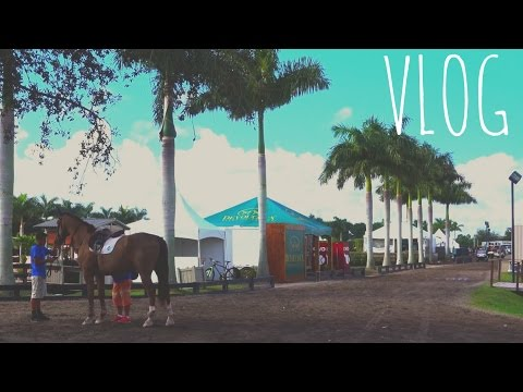 VLOG | Palm Beach Equestrian Center in Florida!