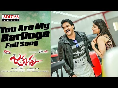You Are My Darlingo Full Song | Jakkanna Telugu Movie | Sunil, Mannara Chopra, Dinesh