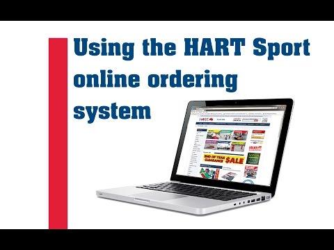 HART Sport Catalogue Quick Order
