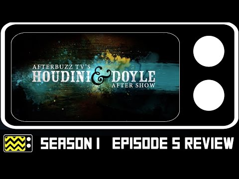 Houdini & Doyle Season 1 Episode 5 Review & After Show | AfterBuzz TV