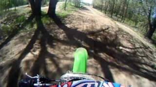 kx250f 09 bridgton motocross practice,go pro camera