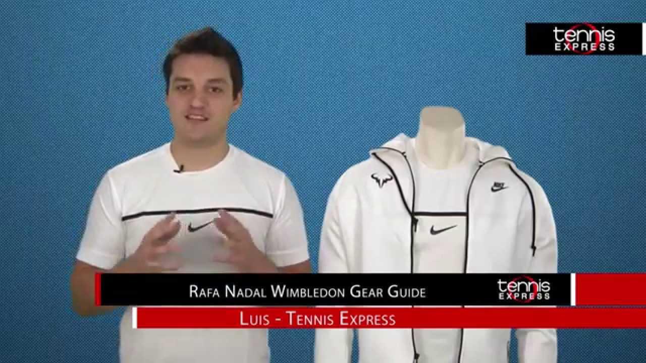 Rafa Nadal Wimbledon Gear Guide #Nadal