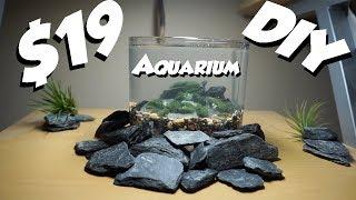 Desktop Aquarium: DIY Nano Planted Aquarium! by  Challenge the Wild