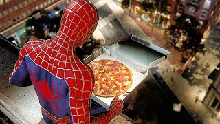 SPIDER-MAN PS4 Pizza Time Scene With Sam Raimi Suit (SPIDERMAN PS4)