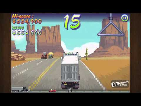 Truckers Delight  Episode 1 - iPhone Game (видео)