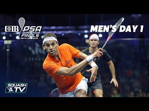 Squash: Men's Day 1 Roundup - CIB PSA World Tour Finals 2018/19