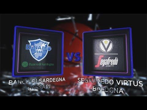 Virtus, gli highlights del match contro la Dinamo Sassari
