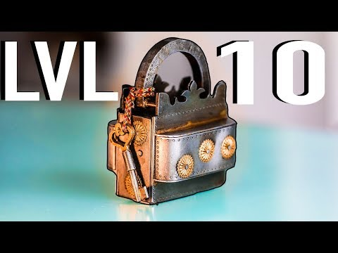 Solving The Most DIFFICULT Lock Puzzle On The Planet!! - LEVEL 10