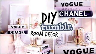 DIY Tumblr Room Decor! Cozy Fall Nightstand! - YouTube