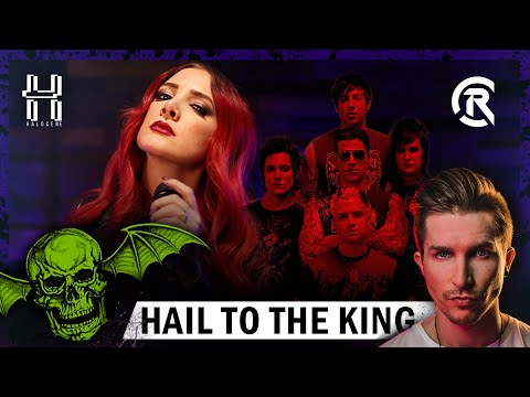 Avenged Sevenfold - Hail To The King - Cover by @halocene feat. @cole Rolland