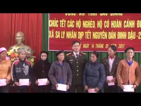 Công an Bắc Giang với tết vì người nghèo