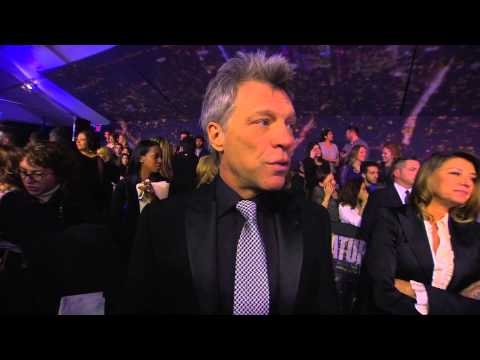 SNL 40th Anniversary: Jon Bon Jovi Red Carpet Interview