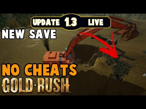 ⛏️PATCH IS HERE!!! GOLD RUSH THE GAME 1.3 is live PART 2⛏️