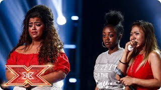 Download Lagu Scarlett, Alisah and Rai-Elle fight for their Chairs | Six Chair Challenge | The X Factor 2017 Mp3