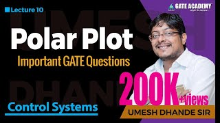 Polar Plot | Important GATE Questions | Control Systems