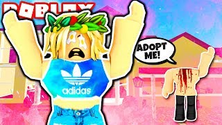 WOULD YOU ADOPT A HEADLESS BABY? Roblox Headless Trolling! Roblox Social Experiment! Roblox Adopt Me