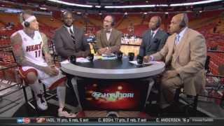Birdman interview on Inside the NBA