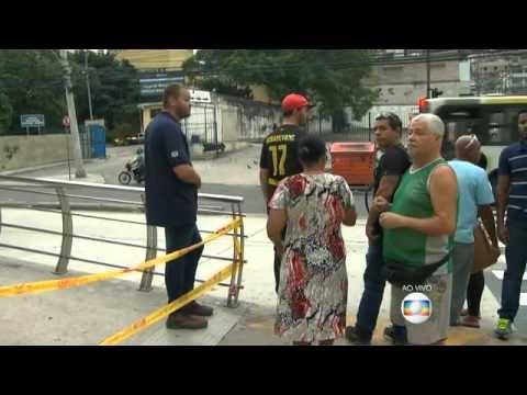Criança recebe descarga elétrica em estação do BRT no Rio, diz família