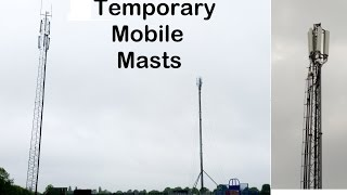 I explain how Temporary Mobile Masts work, including an outline of what will be used at Glastonbury Festival. Website: ...