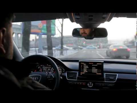Audi A8 Поездка на Audi A8. Test Drive