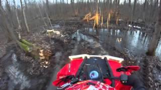 3. scrambler 850 in mud