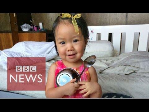 Parents hope 'frozen' child will live again