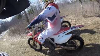 11. 2013 Honda crf450 Wheelies!!!