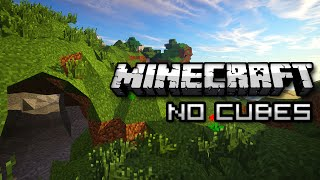 NO CUBES IN MINECRAFT? (Mod Showcase)