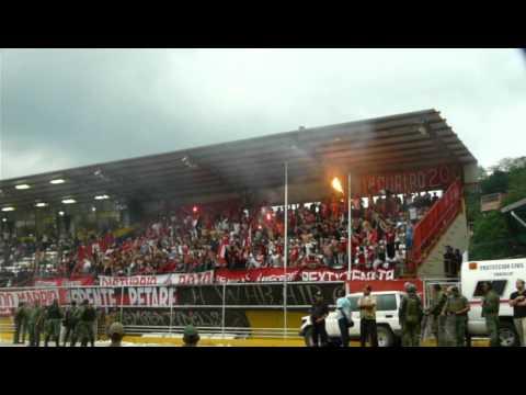La Barra Del Caracas FC en Valera - Los Demonios Rojos - Caracas
