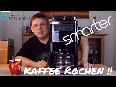Smarte Kaffeemaschine für den Amazon Echo (Kaffee kochen!!) Der erste Versuch