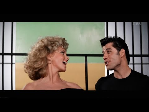 Olivia Newton John. John Travolta - GREASE / グリース 1978