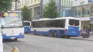Tampere Finland  City pictures : Buses in Tampere, Finland