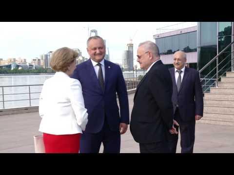 Președintele țării, Igor Dodon a avut o discuție cu prim-ministrul Azerbaidjanului, Artur Rasizade