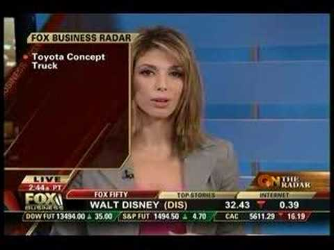 Fox Business Network 12/28/07 Stoned Cameraman?