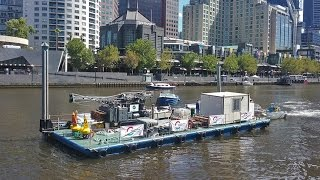 Yarra River Geotechnical Investigation animation