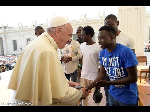 Catequese Com o Papa - Não tenham medo de tocar o pobre e o excluído