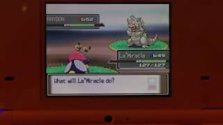 Hello all! I'm back with my 4th shiny for the ISHC already! I'm really happy this shiny showed up quick, and it was the thing I wanted 2nd most from this route! I wanted Hippowdon the most, but I'm very happy to have found this because now I don't have to transfer my Rhyhorn up from 3rd gen! I'm not sure what I'll hunt next, since I'm bored with Tentacool right now. I might hunt some more Platinum targets so the next shine I get will probably be in these games again! Thanks for watching and good luck on all your hunts!