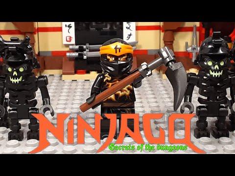 Lego Ninjago   Secrets of the dungeons: Episode 1   Burst (SEASON PREMIERE!)