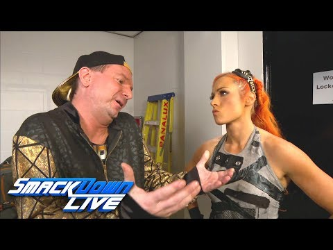 Becky Lynch & James Ellsworth meet before their battle of the sexes: SmackDown LIVE, Nov. 7, 2017