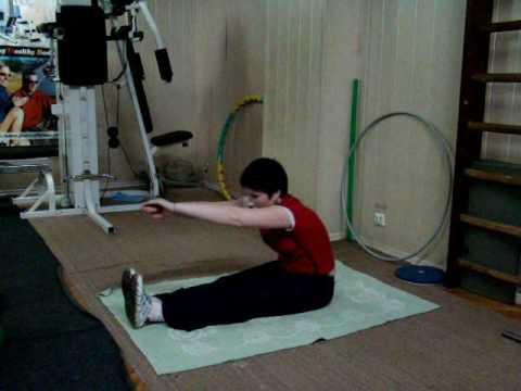 видео лечебная гимнастика при тазобедренном суставе видео