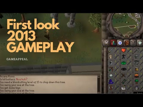 Runescape 2007 gameplay RS2007 is now live!