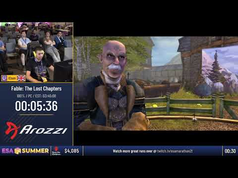 #ESASummer18 Speedruns - Fable: The Lost Chapters [100%] by Etem