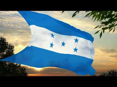 Flag and anthem of Honduras