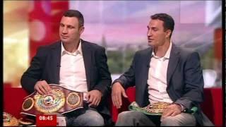 Vitali Klitschko 'I Want To Knock Out David Haye'