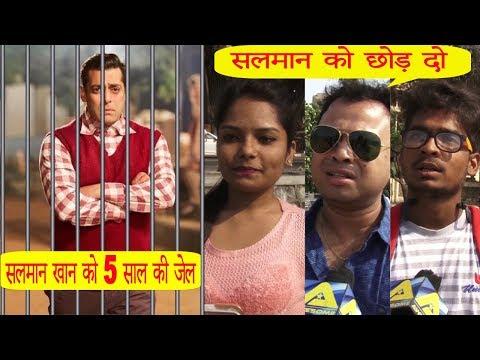 Public REACTIONS On Salman Khan Being JAILED For Blackbuck Case