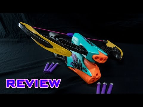 [REVIEW] Nerf Rebelle Combow Unboxing, Review, & Firing Demo
