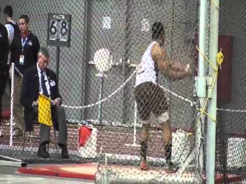 Blugolds' Sam Johnson Wins 2009 Weight Throw National Title