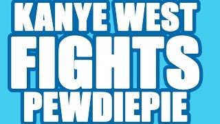 Pewdiepie Vs. Kanye West